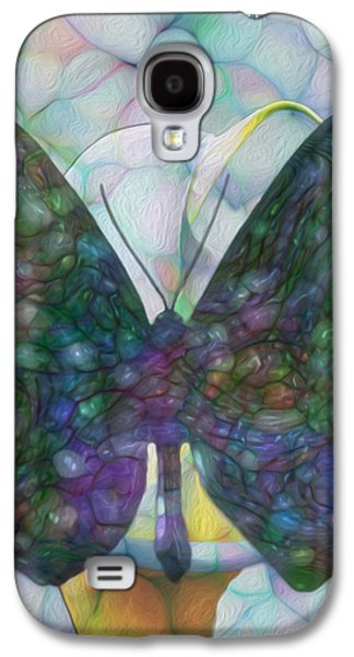 Merging Galaxy S4 Cases - Butterfly Galaxy S4 Case by Jack Zulli