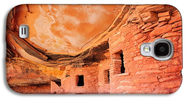 Civilization Galaxy S4 Cases - Canyon Ruins Galaxy S4 Case by Inge Johnsson
