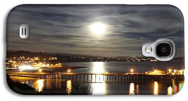 Capitola Moonscape Galaxy S4 Case by Deana Glenz