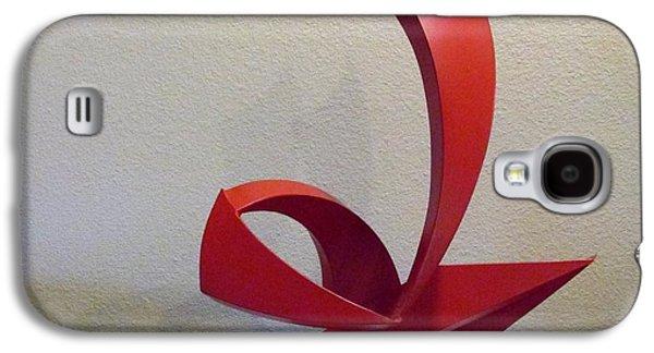 Abstract Movement Sculptures Galaxy S4 Cases - Capoeira Galaxy S4 Case by John Neumann