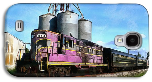 Feed Mill Galaxy S4 Cases - Carolina Southern Railroad Galaxy S4 Case by Joseph C Hinson Photography