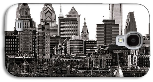 Center City Philadelphia Galaxy S4 Case by Olivier Le Queinec