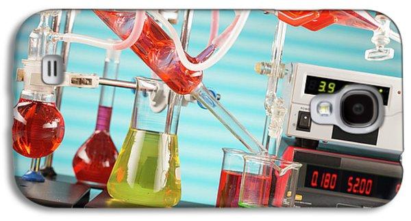 Chemistry Experiment In Lab Galaxy S4 Case by Wladimir Bulgar