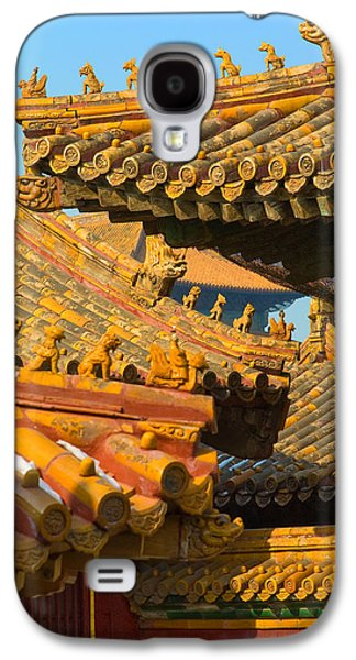 China Forbidden City Roof Decoration Galaxy S4 Case by Sebastian Musial