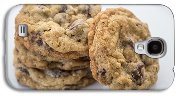 Food Stores Galaxy S4 Cases - Chocolate Chip Cookies Galaxy S4 Case by Edward Fielding
