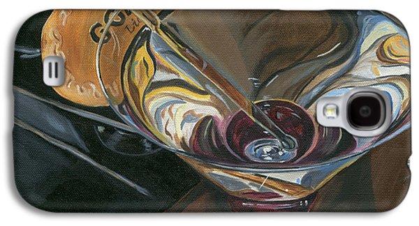 Chocolate Martini Galaxy S4 Case by Debbie DeWitt