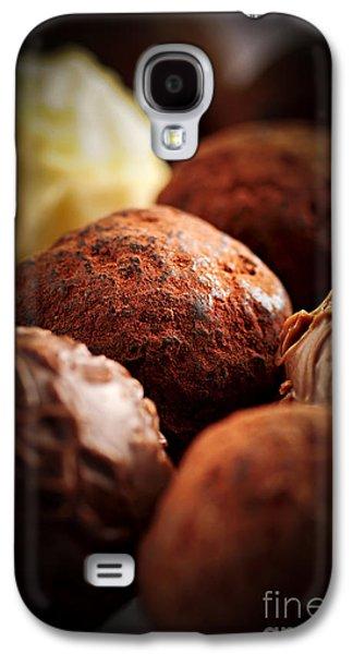 Swiss Photographs Galaxy S4 Cases - Chocolate truffles Galaxy S4 Case by Elena Elisseeva