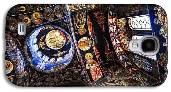 Religious Galaxy S4 Cases - Church interior Galaxy S4 Case by Elena Elisseeva