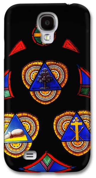 Figures Glass Galaxy S4 Cases - Church Stained Glass Galaxy S4 Case by Mountain Dreams