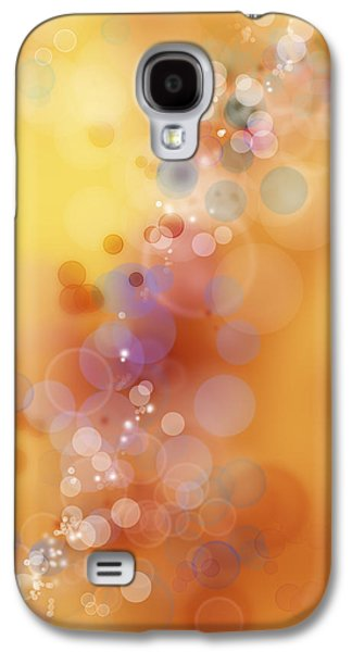 Special Effects Galaxy S4 Cases - Circles background Galaxy S4 Case by Les Cunliffe