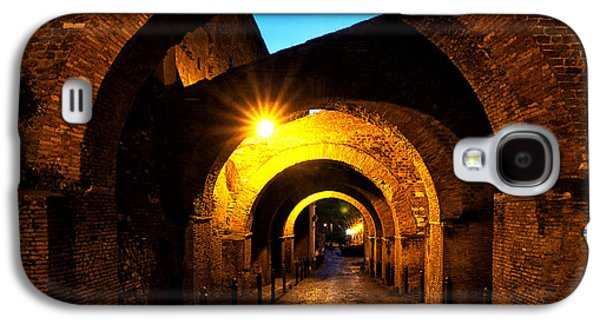 Rome Galaxy S4 Cases - Clivo di Scauro Galaxy S4 Case by Fabrizio Troiani