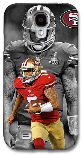 Colin Kaepernick 49ers Galaxy S4 Case by Joe Hamilton