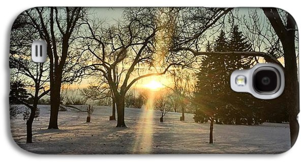 Fort Collins Galaxy S4 Cases - Colorado Sunrise Galaxy S4 Case by Brittany  Carlson