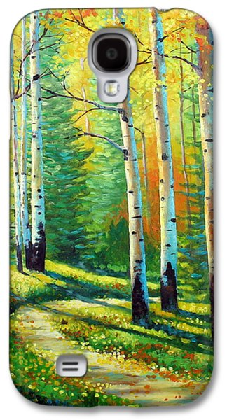 Aspen Galaxy S4 Cases - Colors Of The Season Galaxy S4 Case by David G Paul