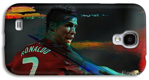 Cristiano Ronaldo Galaxy S4 Case by Marvin Blaine
