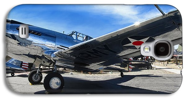 P-40 Galaxy S4 Cases - Curtiss P-40C Warhawk Galaxy S4 Case by Dale Jackson