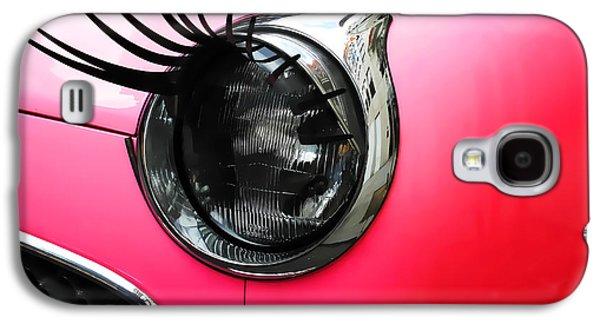 Cute Pink Car Galaxy S4 Case by Jasna Buncic