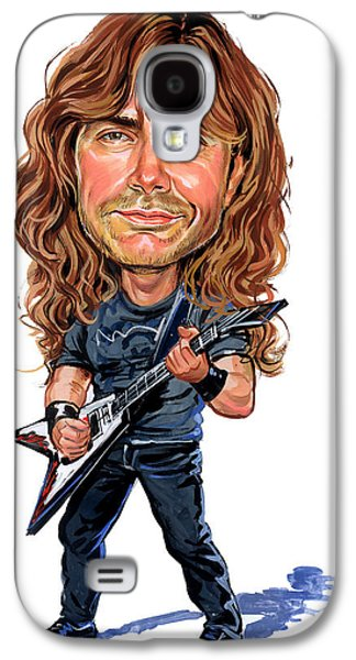 Person Galaxy S4 Cases - Dave Mustaine Galaxy S4 Case by Art