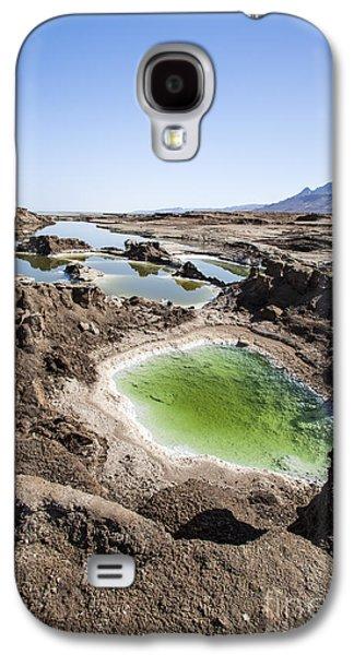Sink Hole Galaxy S4 Cases - Dead Sea Sinkholes  Galaxy S4 Case by Eyal Bartov