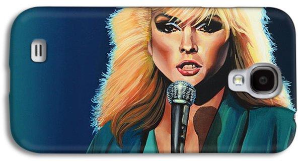 Plastic Galaxy S4 Cases - Deborah Harry or Blondie Galaxy S4 Case by Paul  Meijering