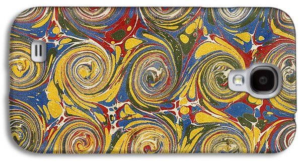 Floral Tapestries - Textiles Galaxy S4 Cases - Decorative end paper Galaxy S4 Case by English School