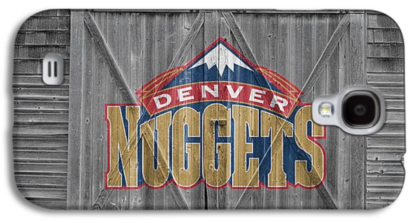 Dunk Galaxy S4 Cases - Denver Nuggets Galaxy S4 Case by Joe Hamilton