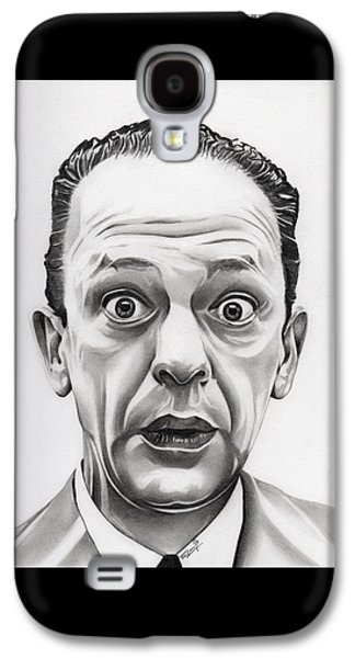 Andy Griffith Show Galaxy S4 Cases - Deputy Barney Fife Galaxy S4 Case by Fred Larucci