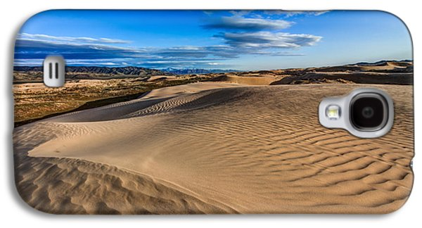 Sand Dunes Galaxy S4 Cases - Desert Texture Galaxy S4 Case by Chad Dutson