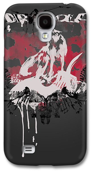 Normal Galaxy S4 Cases - Dire Wolf Galaxy S4 Case by Pop Culture Prophet