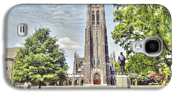 Duke Chapel In Spring Galaxy S4 Case by Emily Kay