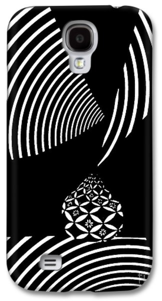 Avant Garde Mixed Media Galaxy S4 Cases - Echo in Time Galaxy S4 Case by Sarah Loft