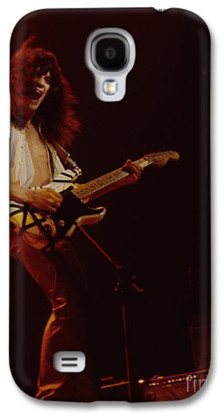 Van Halen Galaxy S4 Cases - Eddie Van Halen - Van Halen at the Oakland Coliseum 12-2-1978 Rare Unreleased Galaxy S4 Case by Daniel Larsen
