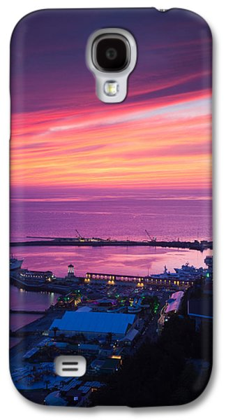 Terminal Photographs Galaxy S4 Cases - Elevated View Of Sea Terminal Galaxy S4 Case by Panoramic Images
