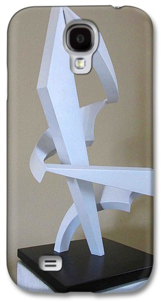 Abstract Movement Sculptures Galaxy S4 Cases - Embrace  Galaxy S4 Case by John Neumann