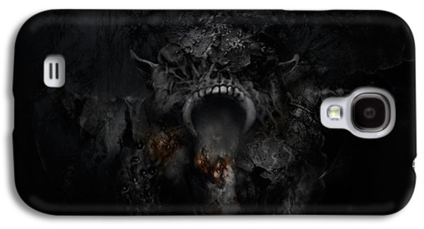 Creepy Digital Art Galaxy S4 Cases - Empire of Ashes Galaxy S4 Case by David Fox