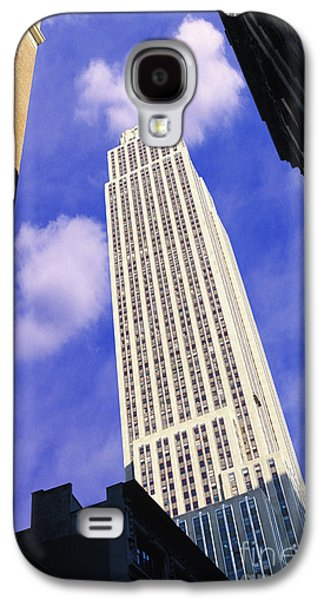Nyc Mixed Media Galaxy S4 Cases - Empire State Building Galaxy S4 Case by Jon Neidert