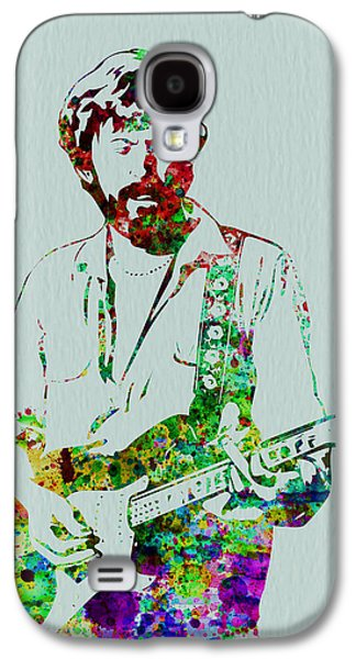 Playing Digital Art Galaxy S4 Cases - Eric Clapton Galaxy S4 Case by Naxart Studio