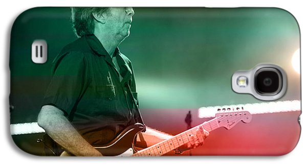 Eric Clapton Galaxy S4 Cases - Eric Clapton Galaxy S4 Case by Marvin Blaine