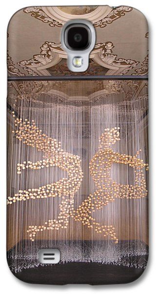 Constellations Sculptures Galaxy S4 Cases - Eros and Cosmos - front side Galaxy S4 Case by Sora Neva