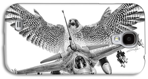 F-16 Fighting Falcon Galaxy S4 Case by Dale Jackson