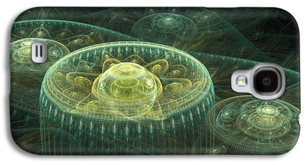 Machinery Galaxy S4 Cases - Fantasy Landscape Galaxy S4 Case by Martin Capek