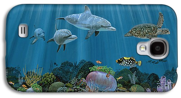 Fantasy Reef Re0020 Galaxy S4 Case by Carey Chen