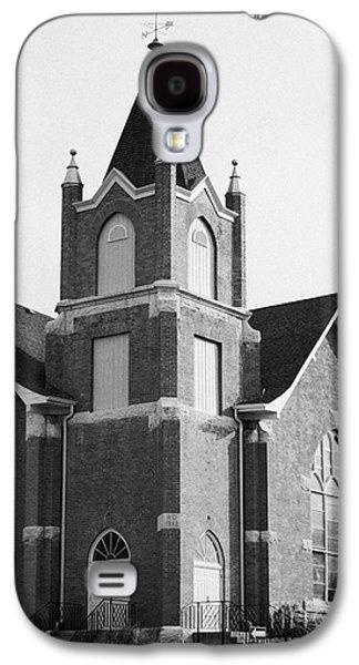 Sask Galaxy S4 Cases - first united church swift current Saskatchewan Canada Galaxy S4 Case by Joe Fox