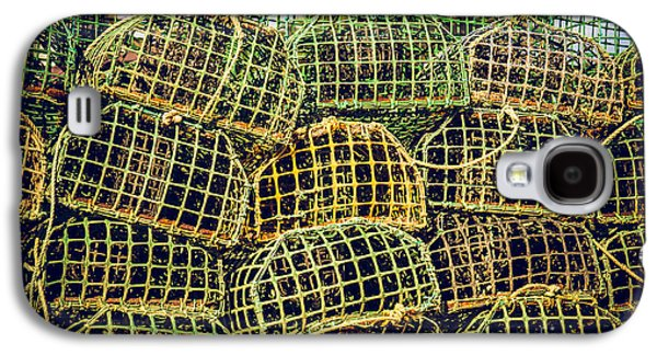 Cage Galaxy S4 Cases - Fishing Traps Galaxy S4 Case by Carlos Caetano