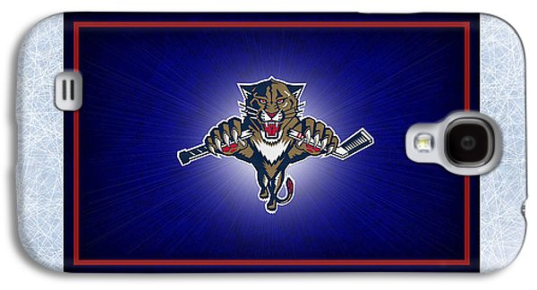 Panther Galaxy S4 Cases - Florida Panthers Galaxy S4 Case by Joe Hamilton