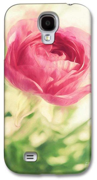 Tattoo Digital Galaxy S4 Cases - Flower Galaxy S4 Case by HD Connelly