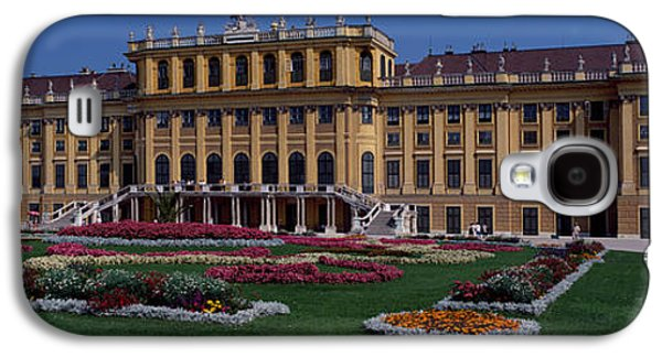Garden Scene Galaxy S4 Cases - Formal Garden In Front Of A Palace Galaxy S4 Case by Panoramic Images