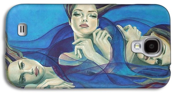 Cage Paintings Galaxy S4 Cases - Fragments of longing  Galaxy S4 Case by Dorina  Costras