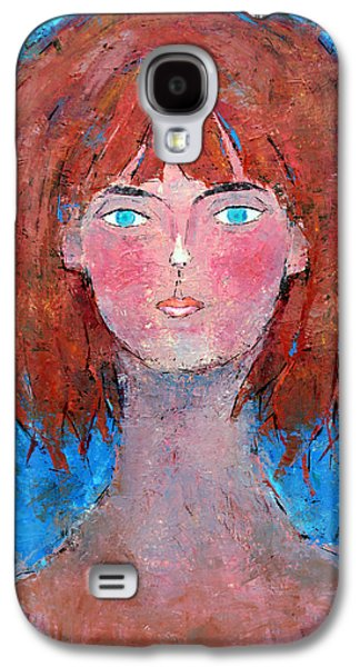 Becky Kim Paintings Galaxy S4 Cases - Freedom Galaxy S4 Case by Becky Kim