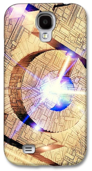Component Photographs Galaxy S4 Cases - Future Computing, Conceptual Image Galaxy S4 Case by Richard Kail